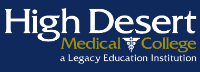 High Desert Medical College logo