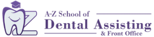 A-Z School of Dental Assisting & Front Office logo