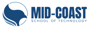 Mid-Coast School of Technology logo
