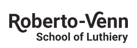 Roberto Venn School of Luthiery logo