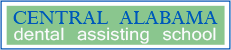 Central Alabama Dental Assisting School logo