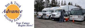 Advance Bus & Truck Driving School logo